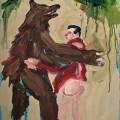 Last tango in woods | 73x53 cm | Acrylic on Paper | 2013