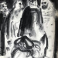 Batman & I | 41x29 cm | Ink on paper | 2019