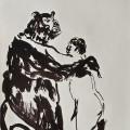 Last Tango | 31x22 cm | Ink on Paper | 2012