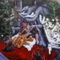 Untitled | 180x180 cm | Acrylic on canvas | 2014