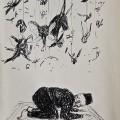 Pray | 21x12.5 cm | Pen on Paper | 2012