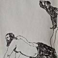 Untitled | 16x11.5 cm | Pen on Paper | 2013